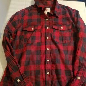 target/xhilaration  plaid shirt